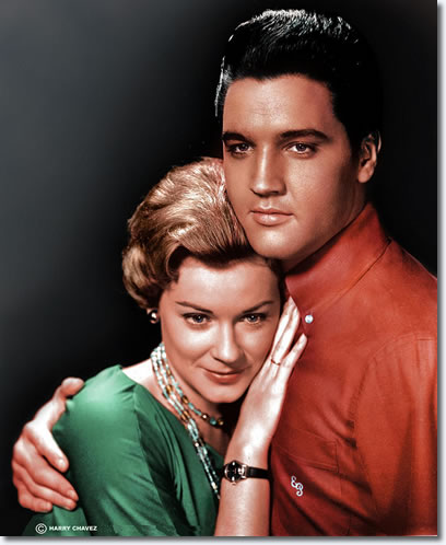 Hope Lange and Elvis Presley : Wild In The Country