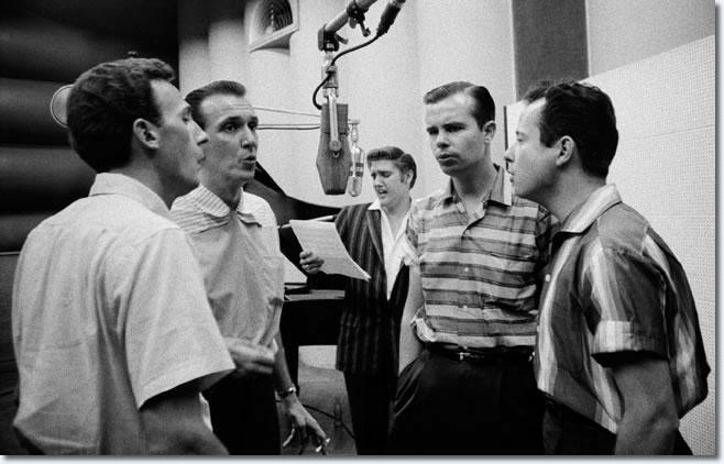 Elvis Presley and The Jordanaires - RCA Sudio 1 - July 2, 1956