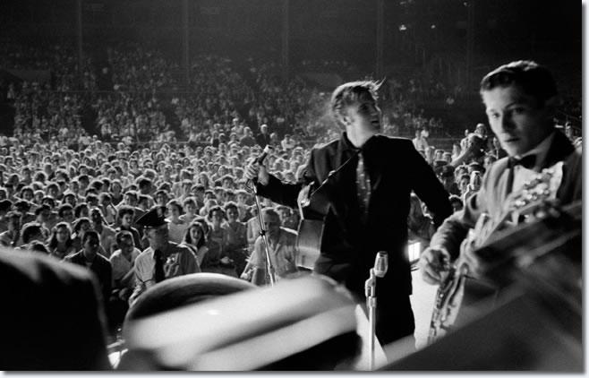 Elvis Presley - Russwood Park, Memphis, Tennessee - July 4, 1956