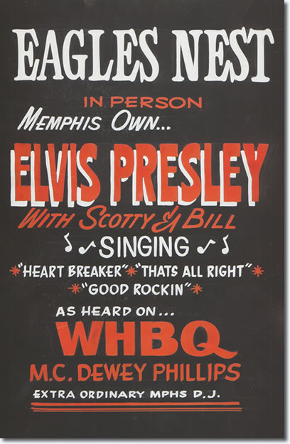 Eagles Nest : In Person ... Memphis Own .. Elvis Presley.