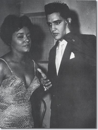Nancy Holloway and Elvis Presley : Paris, France, 1959.