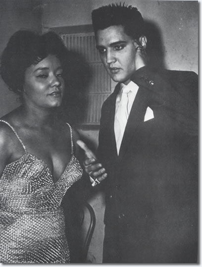 Nancy Holloway and Elvis Presley : Paris, France, 1959.