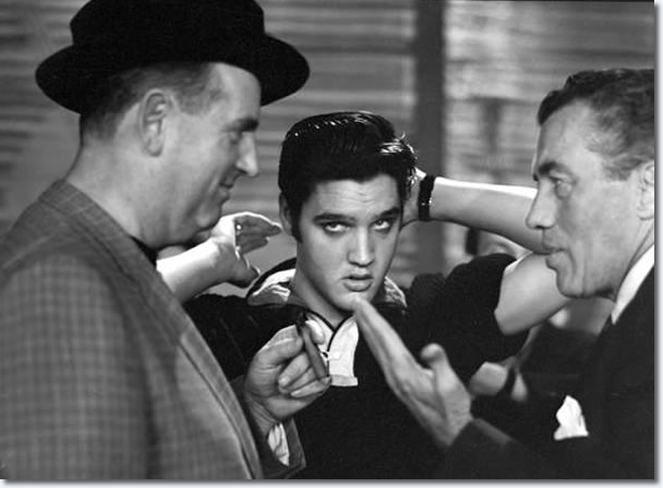 Colonel Parker, Elvis Presley and Ed Sullivan
