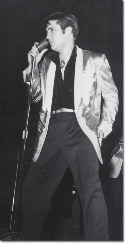 Elvis In Canada - on stage