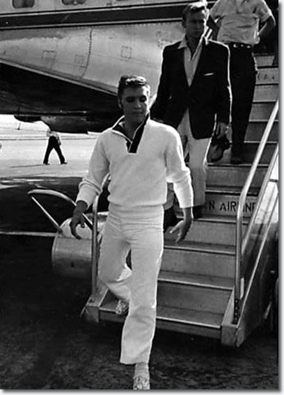 Elvis Presley and Nick Adams