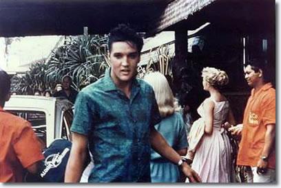 Elvis Presley : 1961: Elvis at the Coco Palms Resort