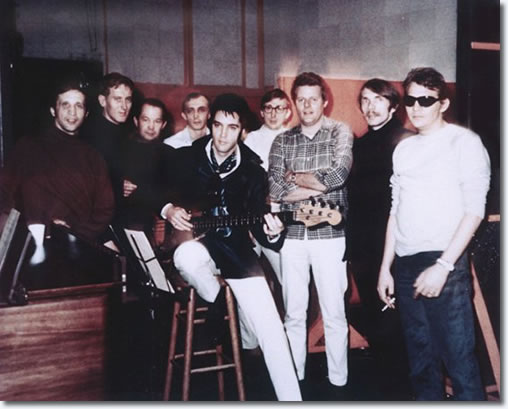 Elvis Presley at American Studios 1969 with house band