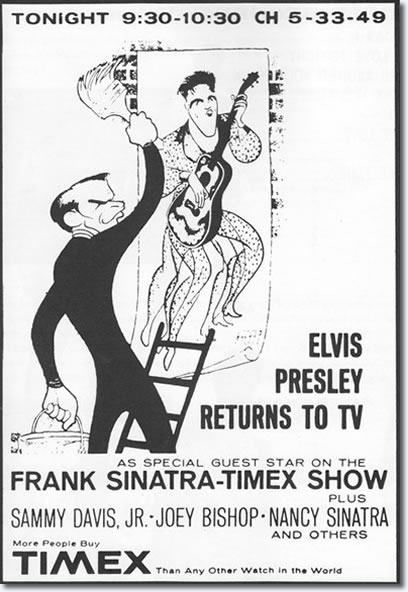 Poster for the Frank Sinatra TV Special 1960