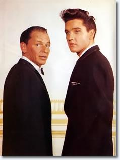 Frank Sinatra and Elvis Presley - 'The Frank Sinatra Timex Special' - March 1960
