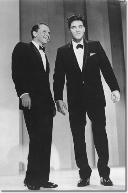 Frank Sinatra and Elvis Presley - 'The Frank Sinatra Timex Special' - March 1960