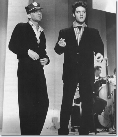 Frank Sinatra and Elvis Presley Rehearsals for 'The Frank Sinatra Timex Special' - March 1960