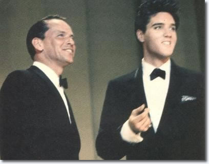 Medley Duet - Frank Sinatra & Elvis Presley, 'Witchcraft' / 'Love Me Tender'