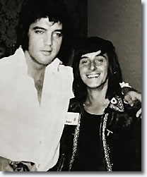 Elvis Presley and Tony Prince