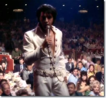 Elvis 1970, live on stage.