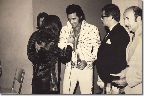 Elvis Presley and Tony Prince