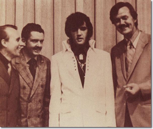 Elvis Presley at the Gospel Convention, Ellis Auditorium, Memphis, October, 1970