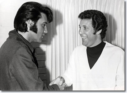 Tom Jones and Elvis Presley