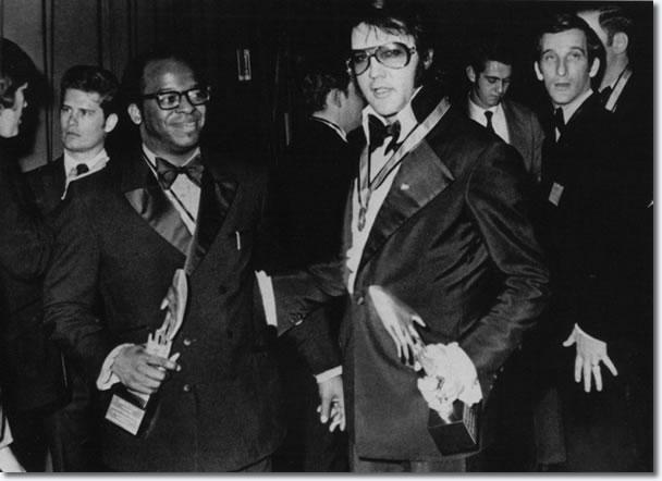 Thomas Atkins with Elvis