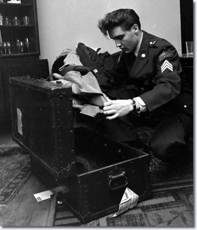 Sergeant Elvis Presley: Germany - Monday February 29, 1960
