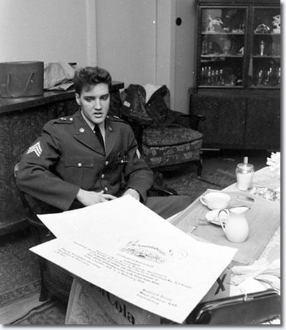 Sergeant Elvis Presley: Germany - Monday February 29, 1960