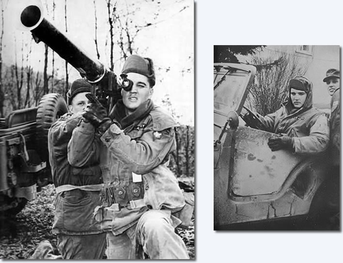 Elvis in the U.S. Army
