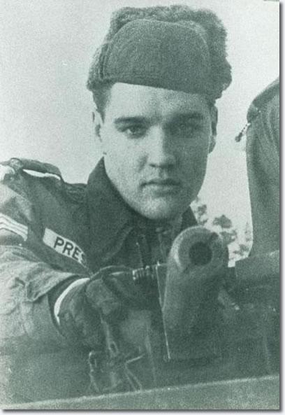 Elvis Presley - Grafenwhör maneuvers - the first week of February 1960