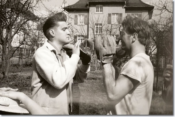 Elvis Presley with Red West