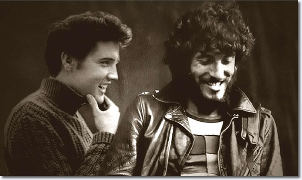 What if Bruce had gotten to meet Elvis before August 16, 1977?
