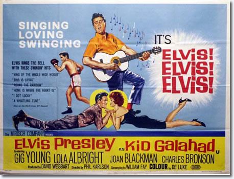 UK Quad Cinema Poster for Kid Galahad.