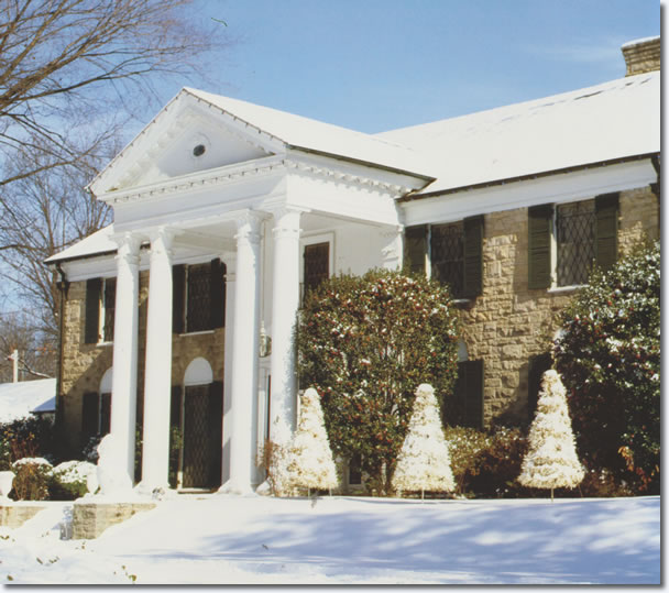 A White Christmas at Graceland.