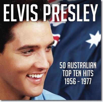 Elvis Presley 50 Australian Top Ten Hits 1956-1977 double CD