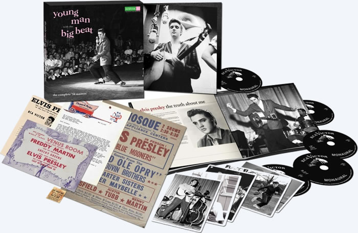 Young Man With The Big Beat : The Complete ''56 Elvis Presley Recordings