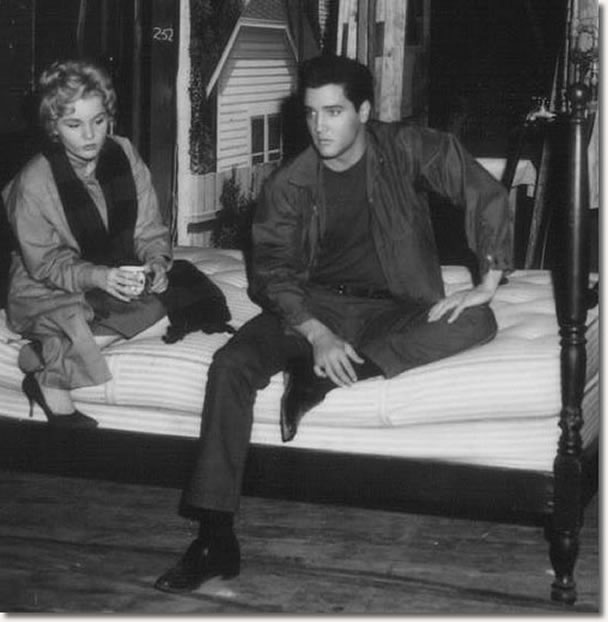Tuesday Weld and Elvis Presley - Wild In The Country