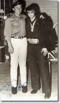 Elvis Presley and Jimmy Dean