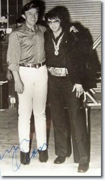 Elvis Presley and Jimmy Dean