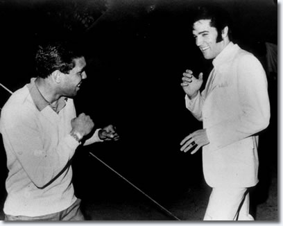 Lionel Rose and Elvis Presley