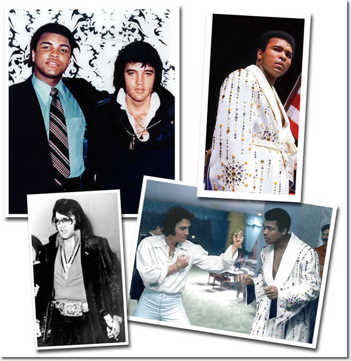 Elvis Presley and Muhammad Ali : Two Sides of the Same Coin