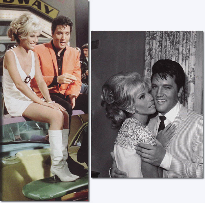 Nancy Sinatra and Elvis Presley