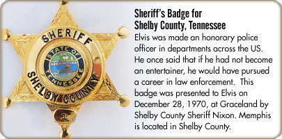 Sheriff's Badge for Shelby County, Tennessee