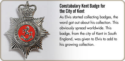 Constabulary Kent Badge for the City of Kent