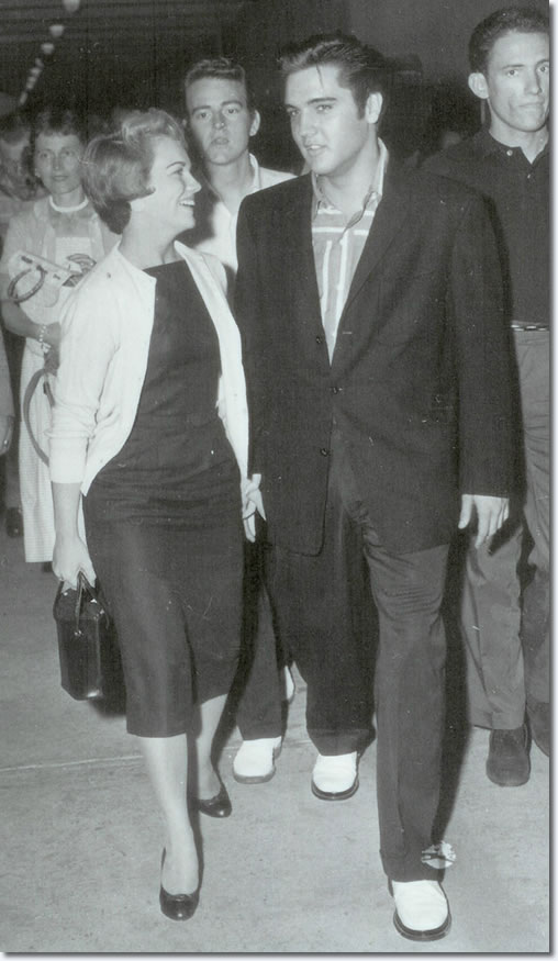 Anita Wood and Elvis Presley
