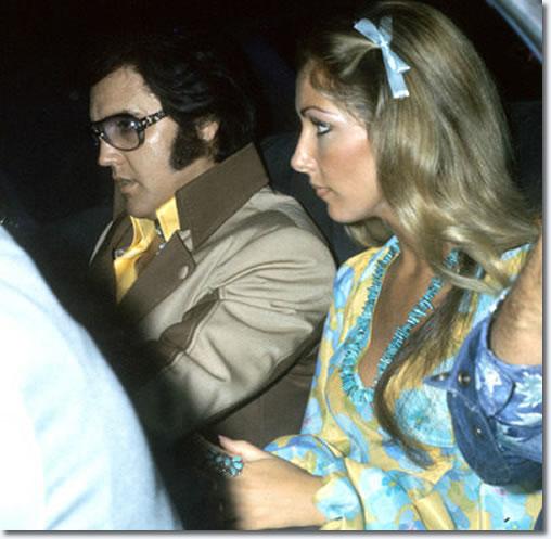 Elvis Presley and Linda Thompson - Charleston West Virginia July 1975