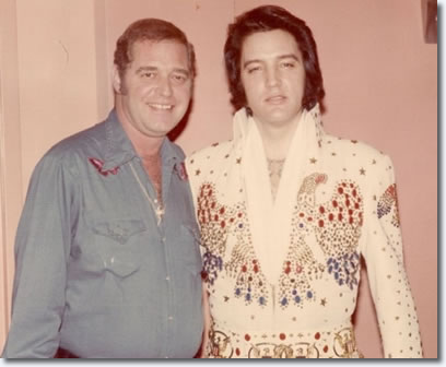 Felton Jarvis and Elvis Presleyjanuary / February, 1974.