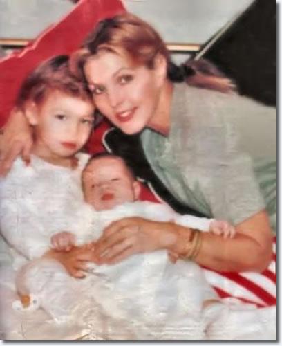 Priscilla Presley with herson, Navarone Garibaldi, and Granddaughter, Danielle Riley Keough
