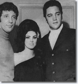 Tom Jones, Priscilla, Elvis Presley
