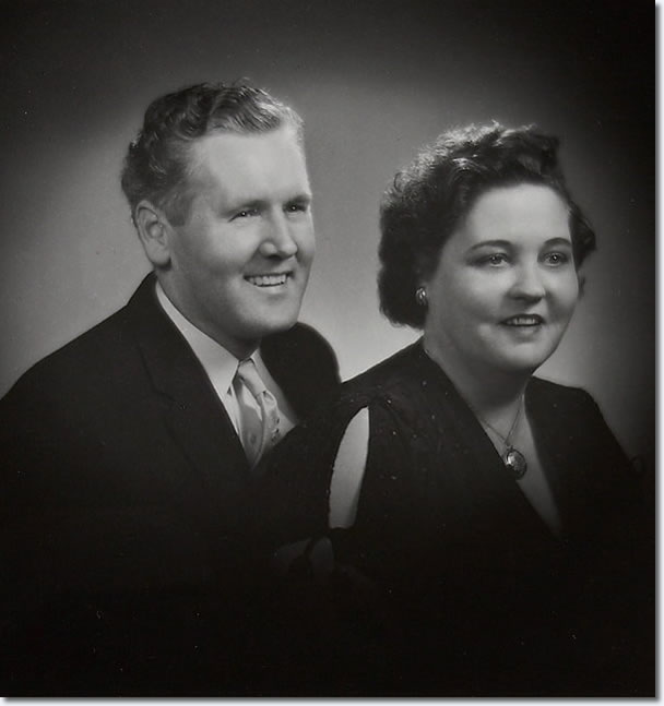 Vernon and Gladys Presley