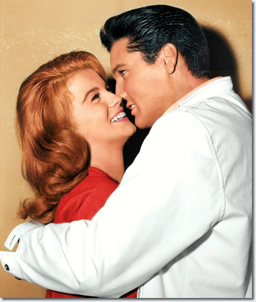 Ann Margret and Elvis Presley