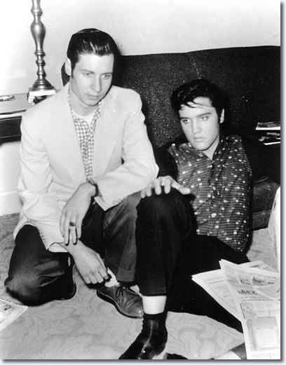 Glen Glenn and Elvis Presley