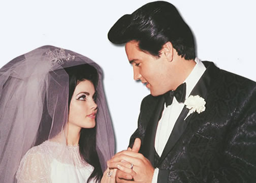 Priscilla and Elvis Presley - May 1st, 1967