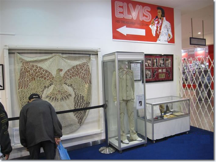 'Elvis Is In The Building', an exhibition of extremely rare artifacts from the King of Rock 'n' Roll